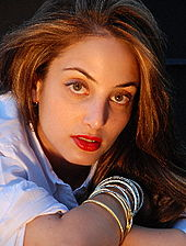 Billy Joel's daughter, Alexa Ray Joel.
