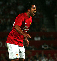 Tévez with Manchester United