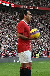 Tévez won numerous honours while playing for Manchester United