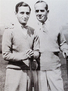 With Irving Berlin, circa 1927