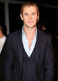 Hemsworth at the Snow White and the Huntsman premiere, Sydney in June 2012