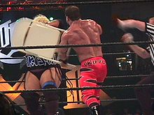 Benoit was disqualified from the 2000 King of the Ring for using a chair against Rikishi.