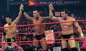 Legacy (from left to right); Rhodes, Randy Orton and Ted DiBiase