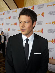 Cory Monteith at the 2010 GLAAD Media Awards