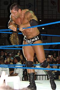 Batista during his second World Heavyweight Championship reign.