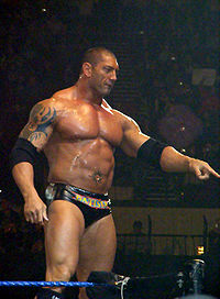 Batista at a Smackdown! live event.